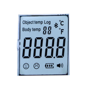 Forehead Thermometer Use Tn 3.3V Transflective LCD Displays