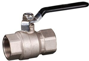 2pcsbrass Ball Valve with Steel Handle (YED-A1011)