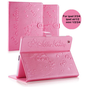Hello Kitty PU Leather Tablet Cover for iPad Air&Mini