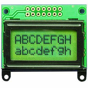 8X2 Non-Backlight Characters LCD Module (TC802B-03)