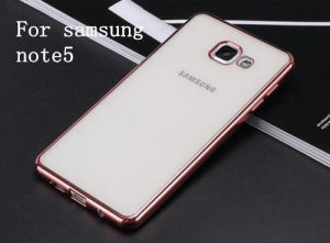 Electroplating Mobile Phone TPU Case for Samsung Note 5 pictures & photos