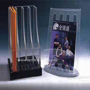 Clear Acrylic File Folder Holder (BTR-H6008) pictures & photos