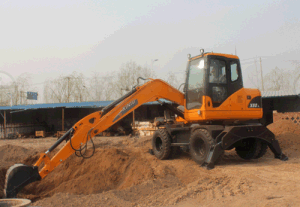 High Quality Wheel Excavator 8t Xn80-L pictures & photos