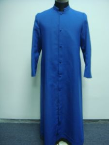 Popular Cassock for Church Blue pictures & photos