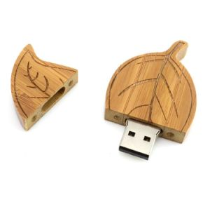 Wooden Leaf USB Flash Drive 1GB-64GB pictures & photos