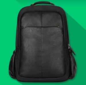 Computer Notebook Bag Leather Laptop Backpack