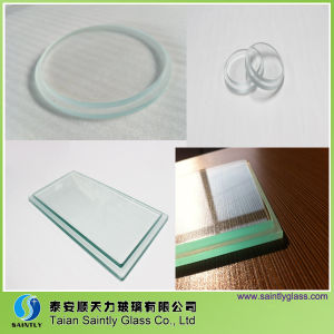 Lower Price Tempered Step Glass for Light Cover