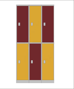 ABS Engineering Plastic Locker Le32-2