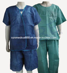 Disposable Medical Scrub Suit with Good Quality CE & ISO pictures & photos