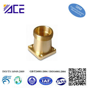 Precision CNC Brass Machining Parts pictures & photos