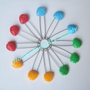 Plastic Head Nappy Fastener Baby Safety Pins