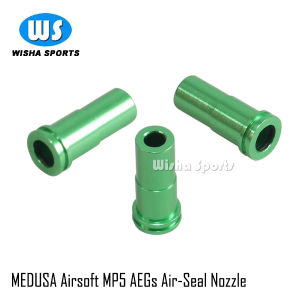 Medusa Airsoft MP5 Aegs Air-Seal Nozzle