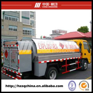 Brand New Fuel Tank Transportation, Oil Tank Truck (HZZ5060GJY) Cost-Effective