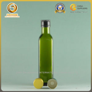 250ml Screw Cap Square Glass Bottle for Olive Oil (092) pictures & photos