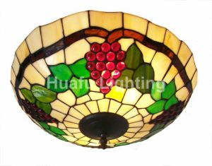 China grape tiffany ceiling lightings and lamp shade tiffany semi grape tiffany ceiling lightings and lamp shade tiffany semi flushmount stained glass lighting fixture aloadofball Choice Image