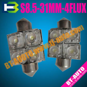 LED Festoon Light S8.5-31mm 4flux