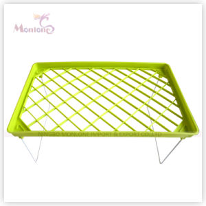 38.5*23.5 Cm One Layer Plastic Clothes Drying Shelf pictures & photos