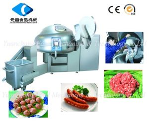 Vacuum Bowl Cutter for Meat Processing Zkzb-200 pictures & photos