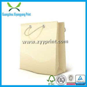 Custom Luxury Gift Paper Bag with Logo Print Wholesale pictures & photos