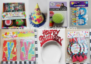 Assorted Happy Birthday Hat, Banner and Crown etc (DA002) pictures & photos