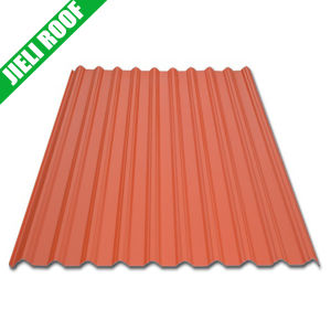 Acid Proof 1088mm Width Trapezoidal Style Resin Roof Sheet pictures & photos