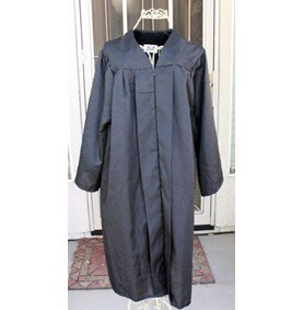 Graduation Gowns Academic Clergy Choir Judge Robe Nun Costume pictures & photos