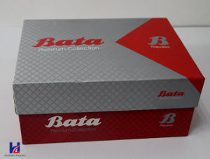 Cardboad Offset Printing Designed Paper Shoes Box pictures & photos