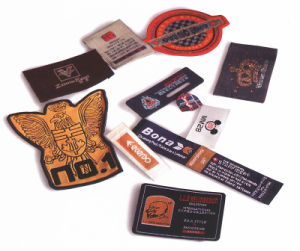 Customized Clothing Garment Woven Labels pictures & photos