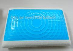 Cool Gel Classic Pillow with Sun Pattern