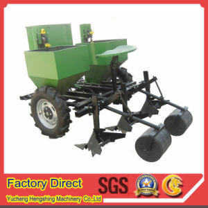 China 2cm 2 Double Row Potato Planter With Tractor 3 Point Linkage