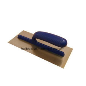 Trowel with Plastic Handle