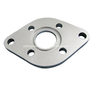 Electric Galv CNC Machined Oval Flanges pictures & photos