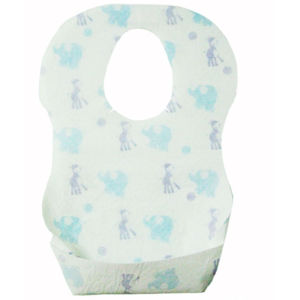 OEM Good Pattern Eco-Frendly Paper Baby Bib pictures & photos