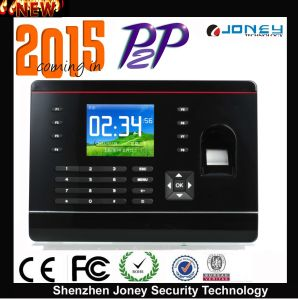 2015 New Products Biometric Punch Card Fingerprint Time Attendance (system) Support Wan pictures & photos