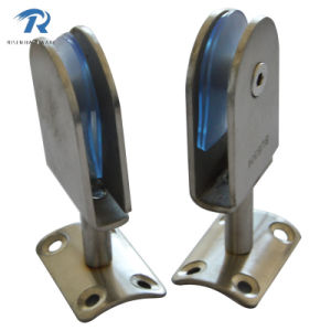 Stainless Steel Galss Clamp for Rail (RSFH008)