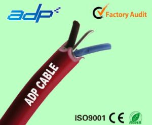 High Quality Fire Retardent Cable for Security 2core 1mm2+0.8mm Drain Wire pictures & photos