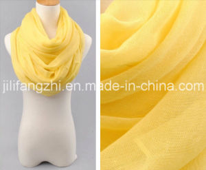100% Spun Polyester High Twist Voile Greige Fabric for Scarf