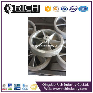 Sand Casting Wrought Iron Wheels/Wrought Iron/Cast Part/Alloy Wheel Part pictures & photos