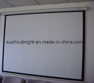 Good Price Electric Projector Silver Screen