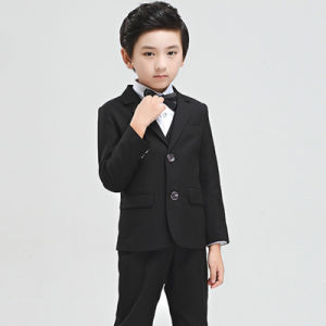 Wholesales China Factory Cheapest Price Boys Suits with Black Color pictures & photos