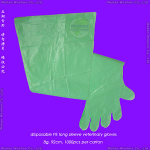 Disposable Long Sleeve Veterinary Gloves pictures & photos
