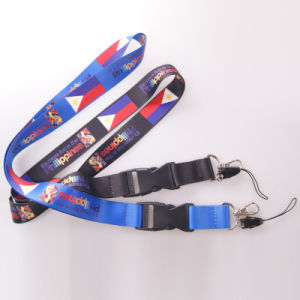 Custom Logo and Polyester Sublimation Lanyard pictures & photos