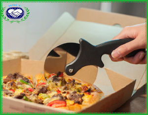 Silicone Grip Stainless Steel Blade Pizza Wheel Cutter