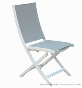 Best Sales Hotel Outdoor Indoor Modern White Sling Back Folding Office Desk Chair
