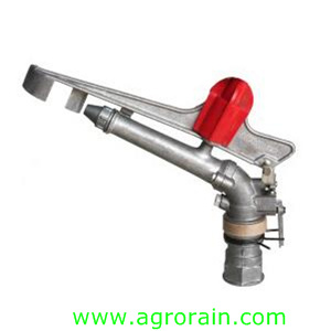 "High Quality Economical Zinc Alloy Spraying Gun Rotary Sprinkler for Lawn 1.5"" 2"" 2.5"""