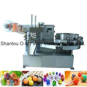 Automatic Single Twist Lollipop Candy Packaging Machine pictures & photos