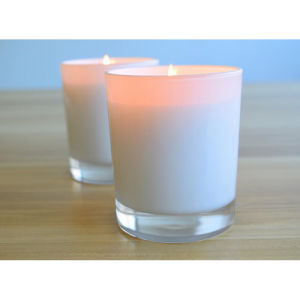 Big Soya Glass Jar Candle with Factory Price