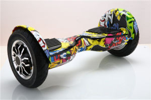 New Design! Two Wheels Fleeing Horse Cross-Country Hoverboard Electric Skateboard Bluetooth Musical Self Balancing Scooter pictures & photos