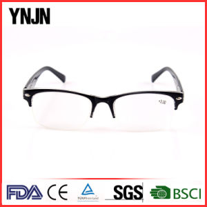 China Retro Black Half Frame Mens Reading Glasses (YJ-147) pictures & photos