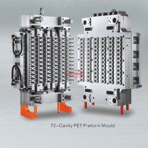 Hot Runner Pet Preform Injection Mould 72 Cavity pictures & photos